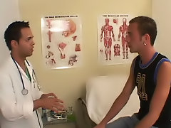 The doctor would tell me what to do and then I did it anal dildo fetish male