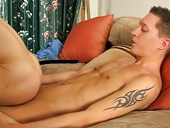 Twink butt hair and twinks big slim cock at My Gay Boss