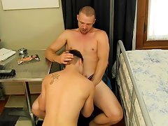 Two gay guys hardcore and male gay porn hardcore at Bang Me Sugar Daddy