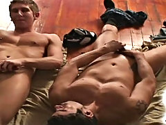 Daniel and Rusty are two hot guys who virtuous want to get off hardcore gay guys fucking