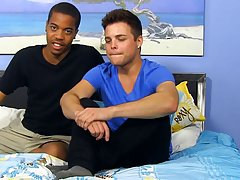His first gay muscle man and first time gay sex videos - at Real Gay Couples!