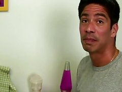 Cory is back again, if you remember he is six foot tall, and has a size 11 shoe along with a big cock male masturbation parties