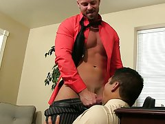Black thugs on white daddies sex pics and gay mutual cum swallow at My Gay Boss