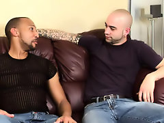 His first huge cock gay interracial sex video