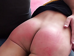Spanked in bedroom college males spanking an