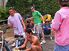 Hey wassup folks this week we got a obedience from this fraternity that had their pledges do a car wash, but things soon out of control with a gooey s