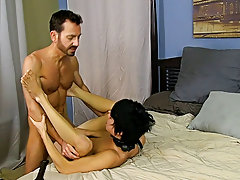 After fucking the cum without Kyler, this chab gives him a facial in advance of tucking him back into his closet for later hardcore gay ebony at Bang