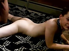 Long hair gay male video and silicon dolls fucking - at Boy Feast!