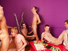 Gay leather bikers in yahoo groups and gay oral group sex pics at Crazy Party Boys