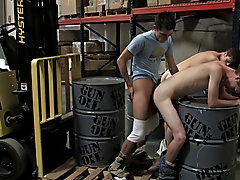 In the blink of an eye, the two misbehaving employees were taken to the back and stripped down gay group sex partys