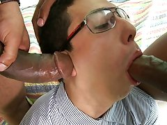 This itsgonnahurt shoot features this chap Erick who is a stud of small in number words with one thing on his mind and that's big black cock that