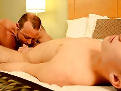 Fresh american gay porn and gentle twinks having sex together at Bang Me Sugar Daddy