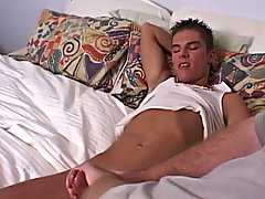 I kept jerking harder and harder until he came all over my hand, while still moaning gay guys first time