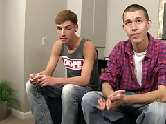 Straight boys get anal fucked and gay hardcore teens