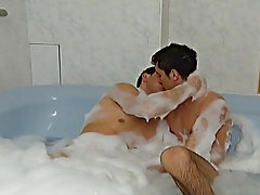 These two enjoy sucking sour one another then charming turns fucking in unison another bareback gay bareback studios