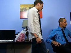 The caramel skin Westin breaks a bit of a sweat as this guy drilled over the desk and on his back, too teen twink nudists gay at My Gay Boss