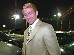 And do you believe of) our luck we found a hot youthful car salesman who swings the one and the other ways here in Miami