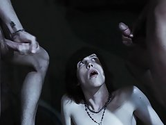 Huge gay group sex and spamfree gay groups older younger studs - Gay Twinks Vampires Saga!