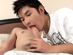 One of the cutest boys on this site getting his ass cheeks spread by a hung white dude and he is loving it nude male asians