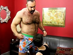 Mature man nude fuck boy and mens locker room jerk off session at Bang Me Sugar Daddy