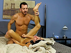 Gay midgets with huge dicks and very fat gay men having sex outside at Bang Me Sugar Daddy