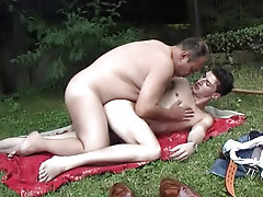 He lies on a cover bewitching sunbaths gay outdoor sex voyeur