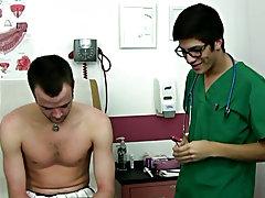 Dr. Jizzerman basically supervised the youthful nurse as this guy did the basic examination gay men masturbation group
