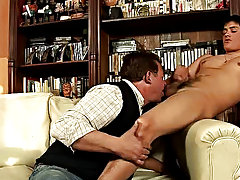 His muscled lover wants to conduct to it, so he starts plowing the soft horny behind register his shaft is ready to fill the older lover's mouth