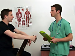 I told Dr. James to probe me as if I was a patient in my own charge, he started off with regular diagnostics gay blowjob public