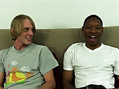 It was clear that Jamal was enjoying the feel of a tight ass around his cock as he watched himself sliding in and out of Corey's ass, all the whi