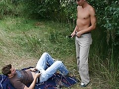 Alexander grabs his hips and pulls him subvene to him, plowing him deep in the ass old gays outdoors