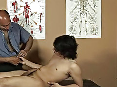 The doctor had real worry controlling himself as he was examining this ultra juicy Latino twink amature gay hairy men