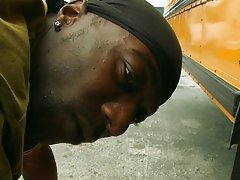 So the next thing he new he was on all fours taking it balls deep into his ass hole... gay black interracia