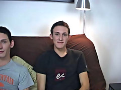 I had Gavin and Scott give Trevor some pointers on oral bonking with guys his first gay facial