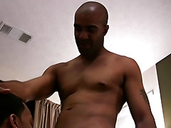 Darius and Daddy fuck, suck, poke, stroke and rim their way to a mutual climax hot black gay dicks