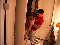 The scene starts off with Skylar Prince totally wasted and Cameron Greenway tough to save him his first gay sex jamie