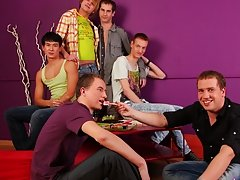 Take a look how quickly that spice starts to works for these boys free group gay sex videos at Crazy Party Boys