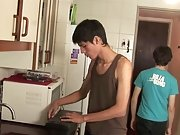 Twinks fucking at a kitchen very well boy twink teen porn at Julian 18