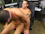 Gay young men having sex video cum and guys anal sex monsters at My Gay Boss