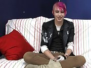 Jay Donohue shows off his colorful personality and style in his interview video male gay twinks at Boy Crush!