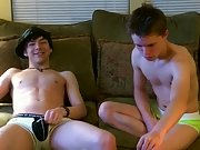 Trace films the action as William and Damien hook up for the first time on camera gay first sex stories - at Boy Feast!