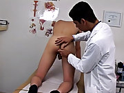 Testicle sucking fetish and male medical exam fetish tube