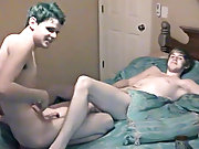 Real life boyfriends Nathan and Lucas came to us to fuck on camera for the 1st time gay action twinks - at Boy Feast!