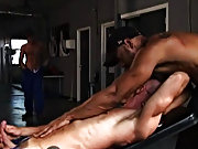 Both Rocco and Carioca have a go on Freddy's ass, making him grunt and groan in pure ecstasy as both guys get their dicks used by his eager butt,
