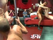 Free gay group sex movies and gay group handjobs at Sausage Party