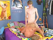 Gay jerk with twink and tights twink movie