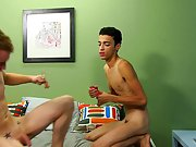 Dustin Cooper and Jordan Ashton every receive a taste of dick after kissing and dressing out hardcore gay twink anal sex at Boy Crush!