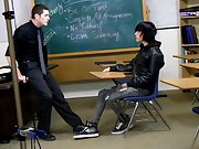 This is a behind the scenes clip from Nate Kennedy and Tyler Bolt's classroom fuck free gay twink feet at Teach Twinks