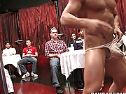 Blowjob for cash gay and straight gay piss at Sausage Party