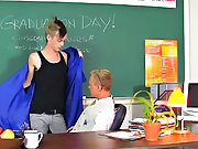 Handsome and happy young twink pics and arabic twink eats cum at Teach Twinks